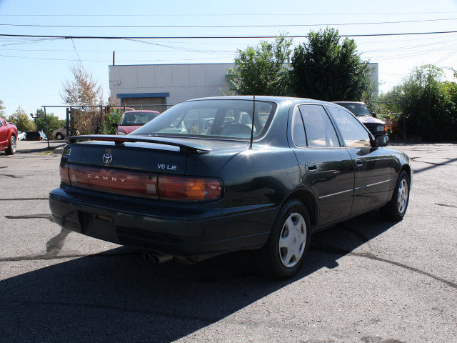 toyota camry 1993 dark green sedan le v6 gasoline v6 front wheel drive automatic with overdrive. Black Bedroom Furniture Sets. Home Design Ideas