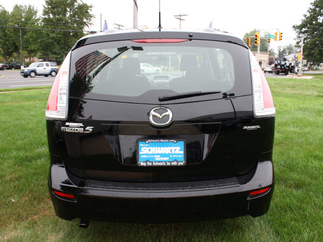 Mazda Mazda5 2009 Black Van Sport Gasoline 4 Cylinders Front Wheel