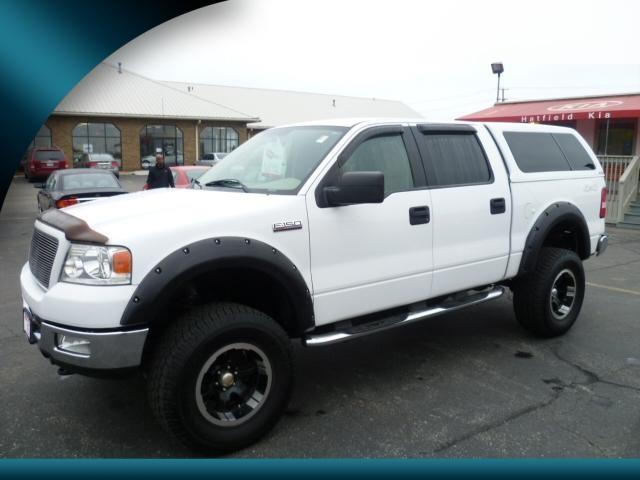 ford f 150 2004 white pickup truck xlt gasoline 8. Black Bedroom Furniture Sets. Home Design Ideas