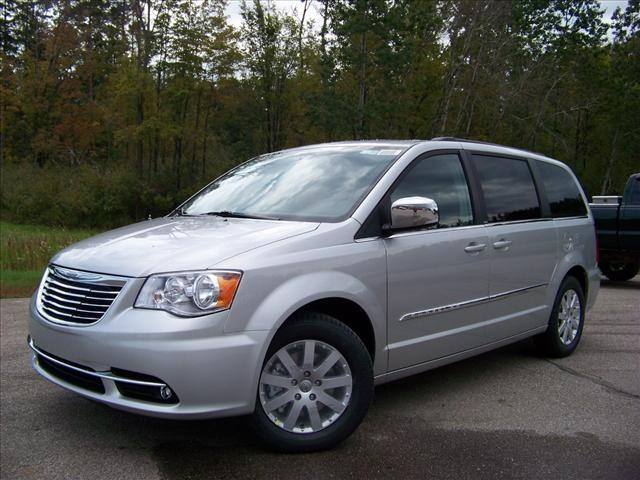 chrysler town and country 2012 silver van touring l flex. Black Bedroom Furniture Sets. Home Design Ideas