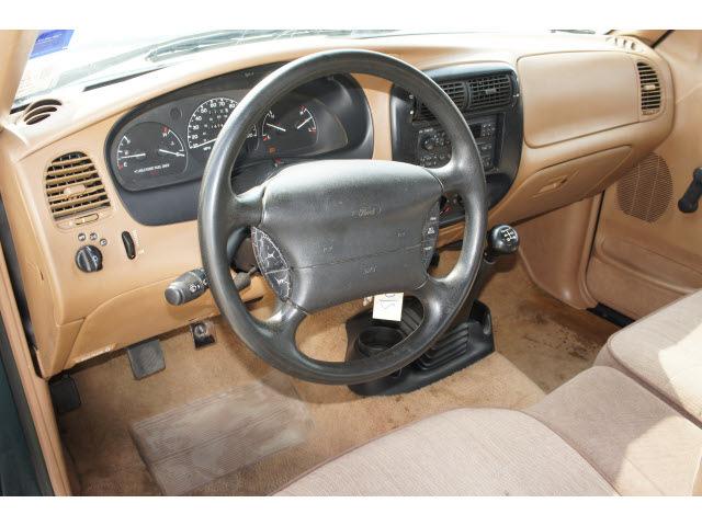 ford ranger 1995 green xlt gasoline 4 cylinders rear wheel drive 5