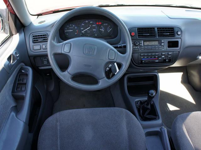 honda civic 1998 red sedan lx gasoline 4 cylinders front wheel drive 5 speed manual 98371 honda. Black Bedroom Furniture Sets. Home Design Ideas