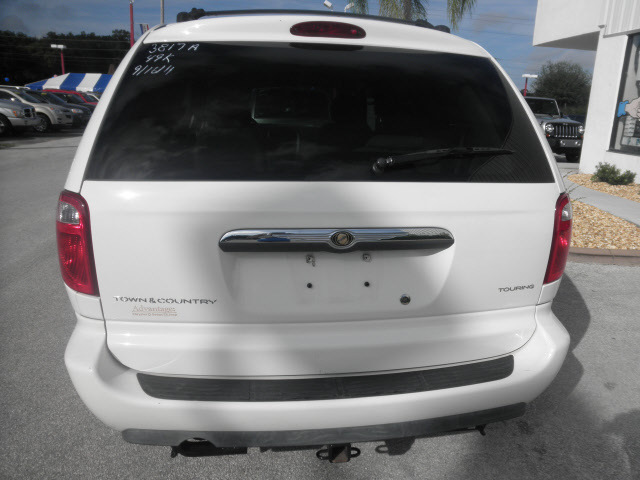 chrysler town and country 2005 white van signature series ...