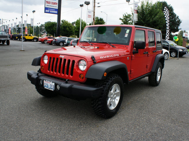 jeep wrangler unlimited 2008 red suv rubicon gasoline 6 cylinders 4 wheel drive 6 speed manual. Black Bedroom Furniture Sets. Home Design Ideas