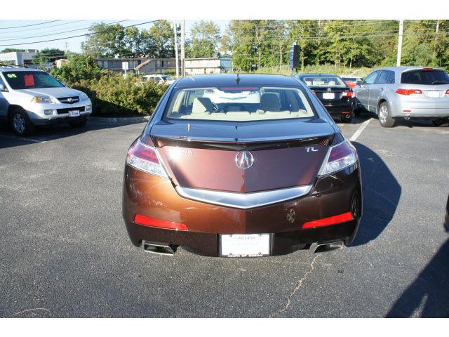 acura tl 2011 mayan bronze sedan w tech gasoline 6 cylinders front wheel drive shiftable ...