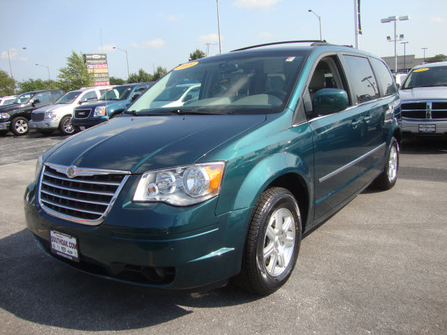 chrysler town country 2009 green van touring gasoline 6 cylinders. Cars Review. Best American Auto & Cars Review