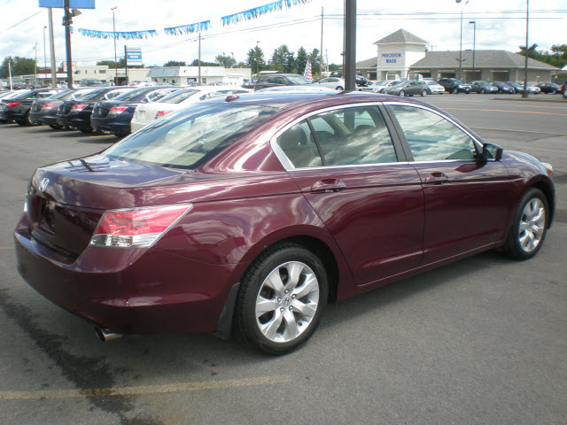 Honda Accord 2009 Burgundy Sedan Ex L Gasoline 4 Cylinders