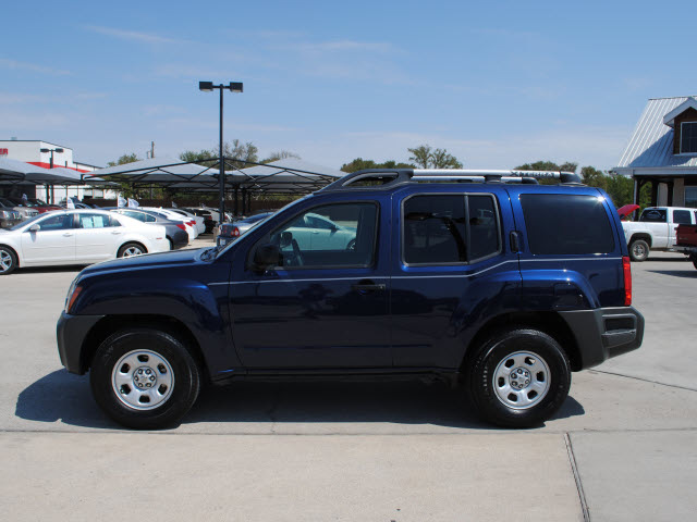 Nissan Xterra 2009 Blue Suv Gasoline 6 Cylinders 2 Wheel