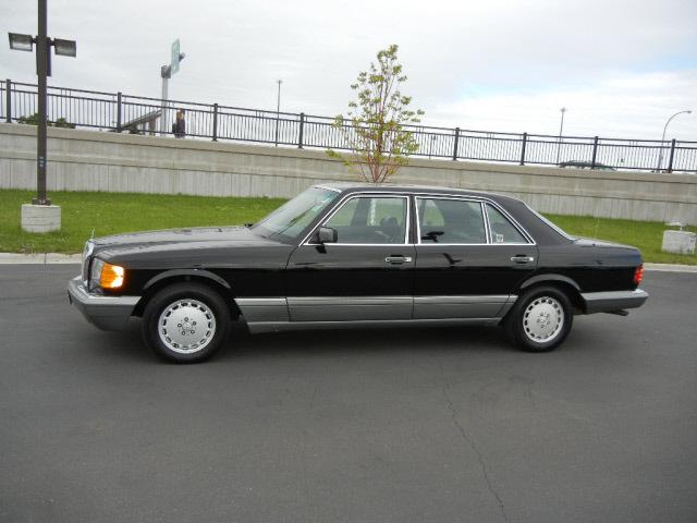 Mercedes benz 420 class 1988 black sedan 420sel gasoline 8 for 1988 mercedes benz 420sel
