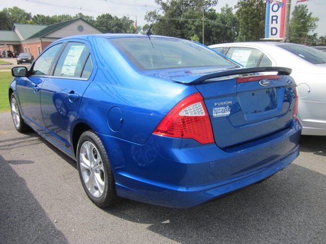 ford fusion 2012 blue sedan se gasoline 4 cylinders front wheel drive automatic 62863 «Most ...