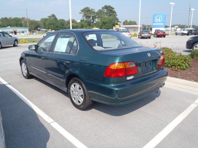 honda civic 1999 green sedan lx gasoline 4 cylinders front wheel drive automatic 28557. Black Bedroom Furniture Sets. Home Design Ideas