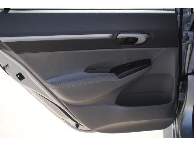 honda civic 2009 silver sedan ex gasoline 4 cylinders front wheel drive automatic 77065 last. Black Bedroom Furniture Sets. Home Design Ideas