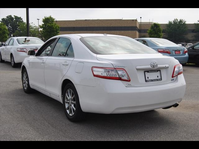 toyota camry hybrid 2011 white sedan base hybrid 4 cylinders front wheel drive cont variable. Black Bedroom Furniture Sets. Home Design Ideas