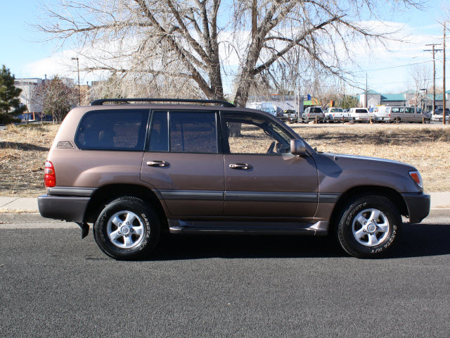 toyota land cruiser 2000 brown suv rear diff locker gasoline