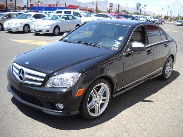 Mercedes benz c350 2008 black sedan c350 sport gasoline 6 for Mercedes benz 2008 c350