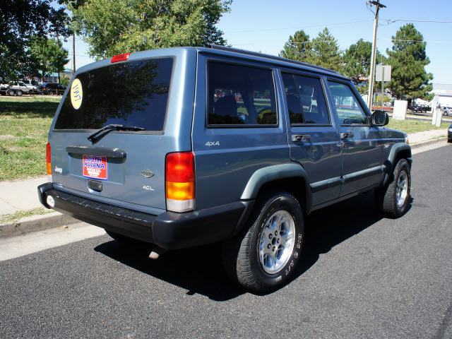 jeep cherokee 1997 blue suv sport 5 speed 4x4 gasoline 6 cylinders 4 rh photoofcar com Jeep Cherokee XJ Off-Road Jeep Grand Cherokee