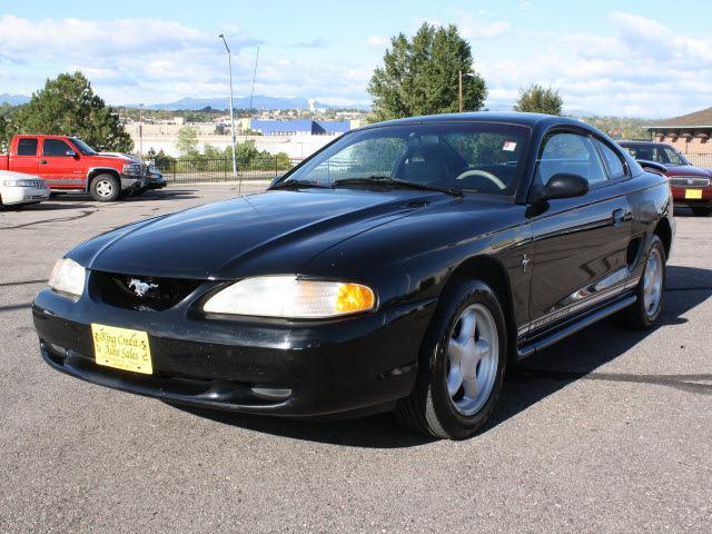 ford mustang 1998 black coupe gasoline v6 rear wheel drive. Black Bedroom Furniture Sets. Home Design Ideas