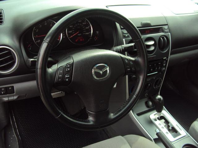 mazda mazda6 2006 silver sedan gasoline 6 cylinders front wheel drive ...