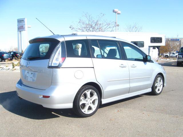 mazda mazda5 2009 silver van sport gasoline 4 cylinders front wheel drive automatic 80504 mazda. Black Bedroom Furniture Sets. Home Design Ideas