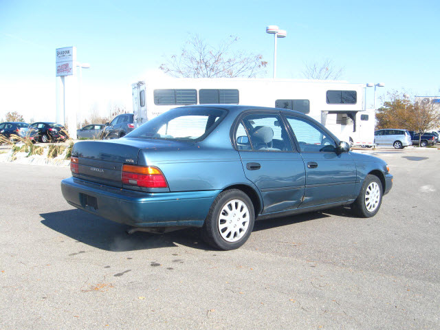 toyota corolla 1995 blue sedan dx gasoline 4 cylinders front wheel rh photoofcar com 1995 corolla manual transmission fluid 1995 corolla manual transmission fluid