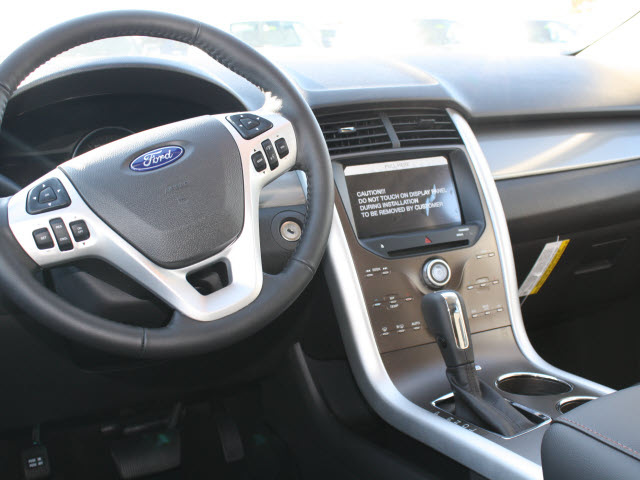 ford edge 2012 dark blue pearl met suv gasoline 4 cylinders front wheel drive 6 speed auto. Black Bedroom Furniture Sets. Home Design Ideas