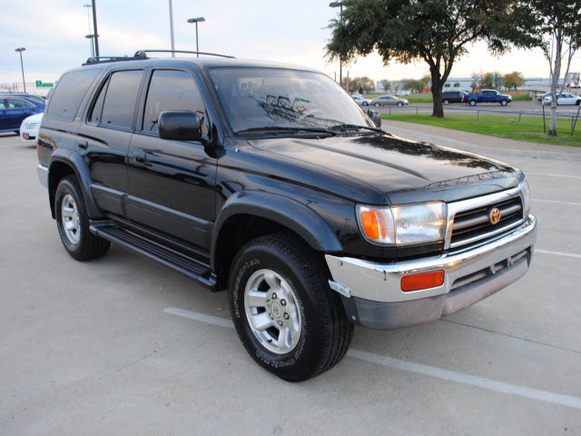 toyota 4runner 1997 black suv limited gasoline 6 cylinders. Black Bedroom Furniture Sets. Home Design Ideas