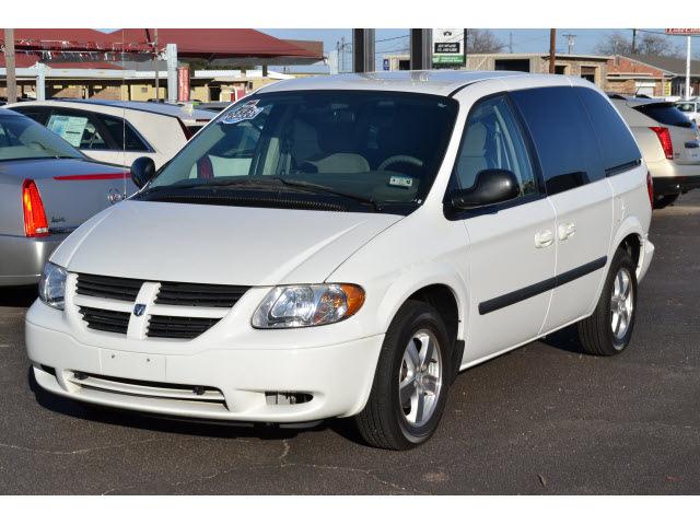 dodge caravan 2006 white van sxt gasoline 6 cylinders ...