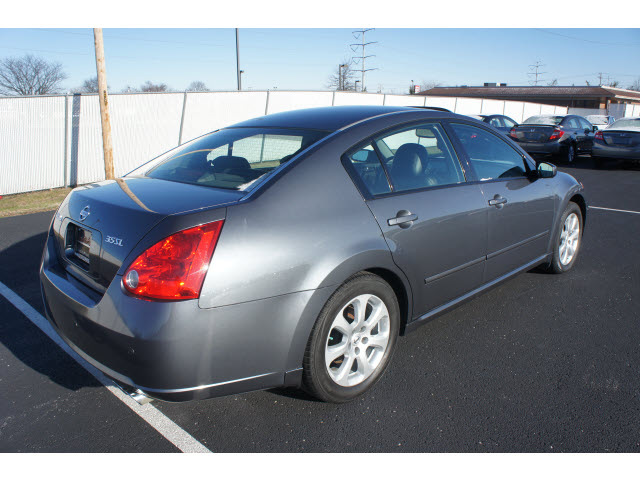 nissan maxima 2007 dk gray sedan 3 5 sl gasoline 6 cylinders front wheel drive cont variable. Black Bedroom Furniture Sets. Home Design Ideas