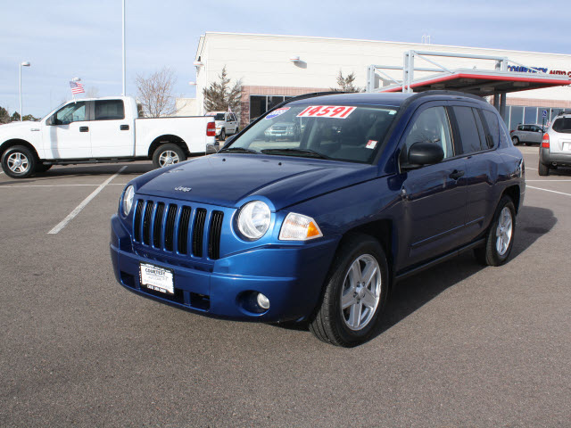 jeep compass 2009 blue suv sport gasoline 4 cylinders 4 wheel drive automatic 80126 jeep. Black Bedroom Furniture Sets. Home Design Ideas