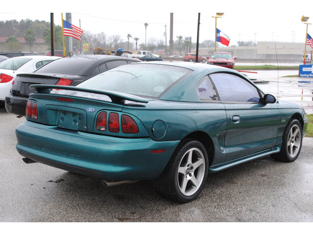 ford mustang 1996 green coupe gt gasoline v8 rear wheel. Black Bedroom Furniture Sets. Home Design Ideas