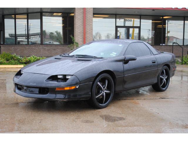 Chevrolet Camaro 1997 Black Hatchback Gasoline V6 Rear