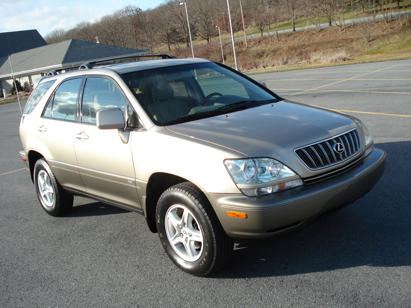 Lexus Rx Champagne Suv Cylinders All Whee Drive