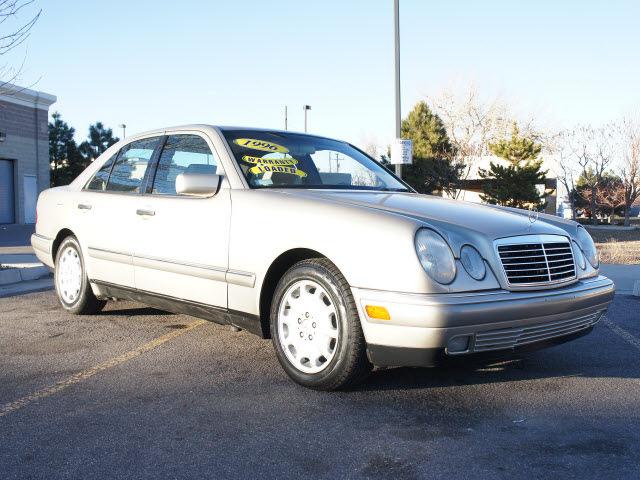 Mercedes benz e class 1996 silver sedan e320 gasoline 6 for 1996 mercedes benz e320