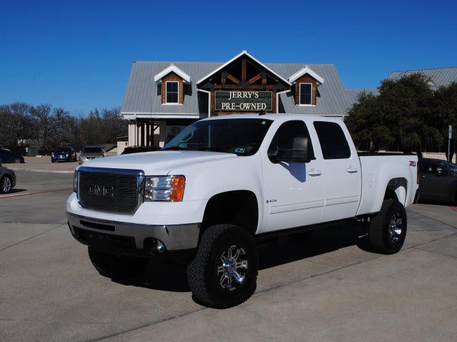 Gmc Sierra 2500hd 2008 White Diesel 8 Cylinders 4 Wheel