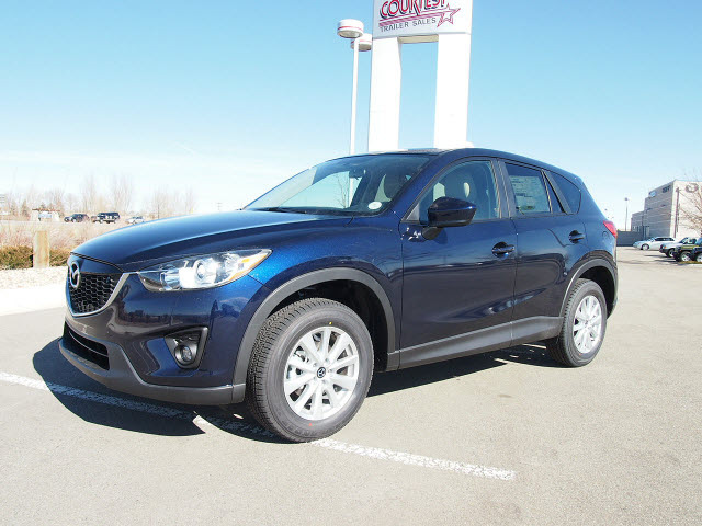 Mazda Cx 5 2013 Dark Blue Touring 4 Cylinders All Whee