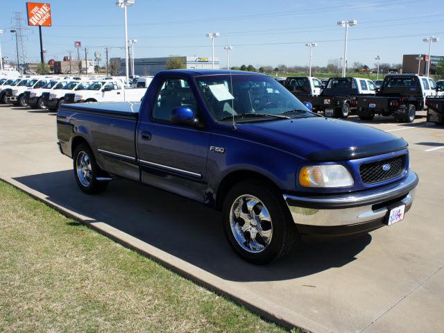 Ford f 150 1997 Blue Pickup