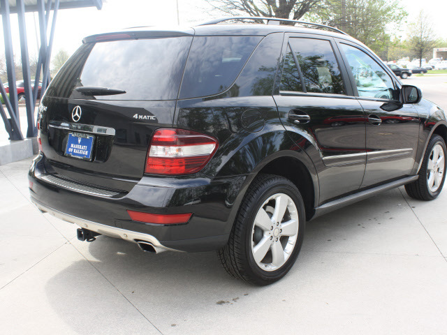 mercedes benz m class 2009 black suv ml350 4matic gasoline 6 cylinders all whee drive automatic ...