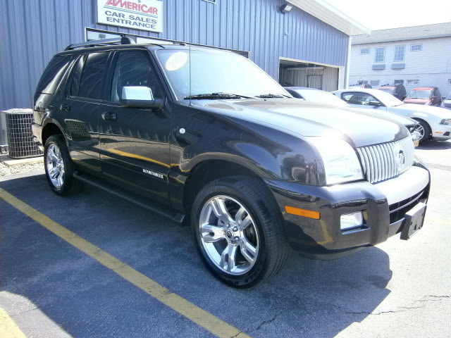 Mercury Mountaineer 2009 Black Suv Premier Gasoline 8 Cylinders All Whee Drive Automatic 13212