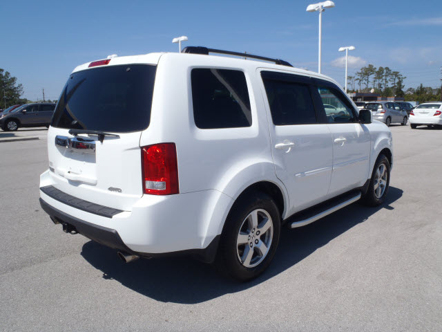 honda pilot 2009 white suv ex l gasoline 6 cylinders 4 wheel drive automatic 28557 honda pilot. Black Bedroom Furniture Sets. Home Design Ideas