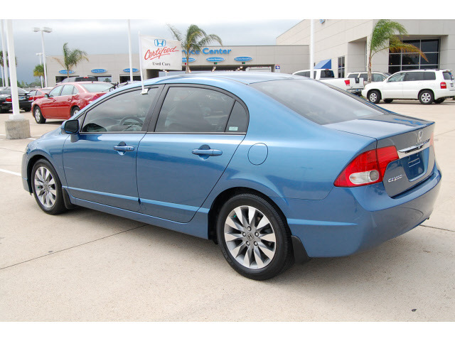 honda civic 2009 blue sedan ex l gasoline 4 cylinders front wheel drive automatic 77065 honda. Black Bedroom Furniture Sets. Home Design Ideas