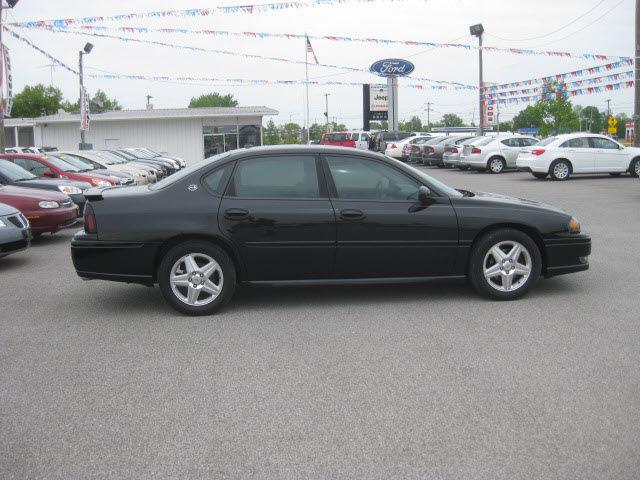 chevrolet impala 2004 black sedan ss supercharged gasoline 6 cylinders front wheel drive. Black Bedroom Furniture Sets. Home Design Ideas