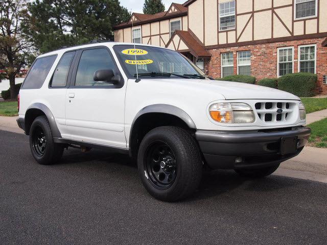 Ford explorer 1998 bright white suv sport 2 dr 4x4 auto gasoline v6 4 wheel drive automatic