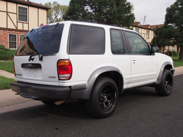 Ford Explorer 1998 Bright White Suv Sport 2 Dr 4x4 Auto