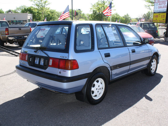 honda civic 1990 blue wagon gasoline 4 cylinders 4 wheel drive 5 speed manual 80229 honda civic. Black Bedroom Furniture Sets. Home Design Ideas