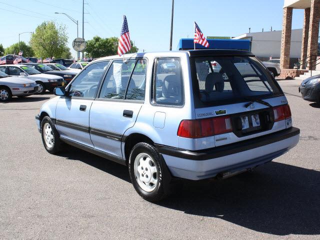 honda civic 1990 blue wagon gasoline 4 cylinders 4 wheel drive 5 speed manual 80229 honda civic. Black Bedroom Furniture Sets. Home Design Ideas