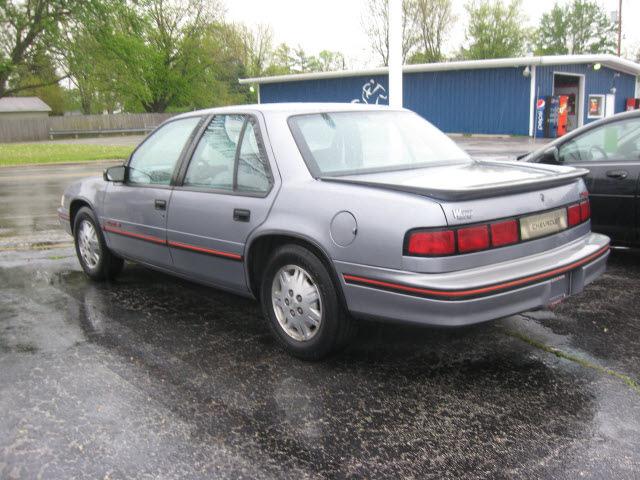 chevrolet lumina 1991 gray sedan euro gasoline v6 front wheel