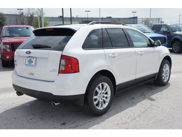 ford edge 2012 white suv sel gasoline 4 cylinders front wheel drive 6 speed automatic 77388. Black Bedroom Furniture Sets. Home Design Ideas