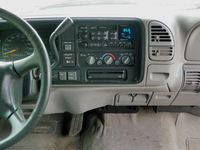 Chevrolet C K 1500 Series 1998 Black Silverado Z71