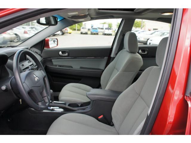 mitsubishi galant  red sedan se gasoline  cylinders front wheel drive automatic