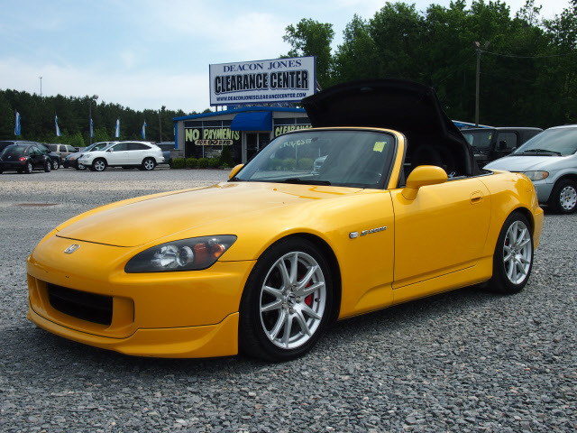 honda s2000 2004 yellow gasoline 4 cylinders rear wheel drive 6 speed manual 27569 honda s2000. Black Bedroom Furniture Sets. Home Design Ideas